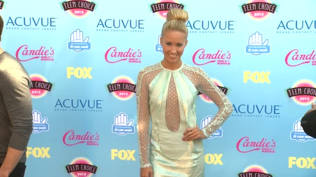 Anna Camp at 2013 Teen Choice Awards Arrivals on 8/11/2013 in Universal City CA