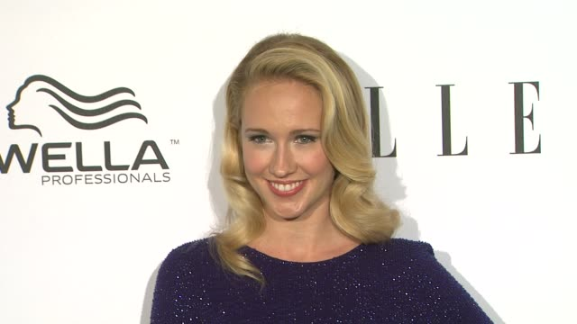 Anna Camp at Elle's 2nd Annual 'Women In Television' Celebration 1/24/2013 in West Hollywood CA