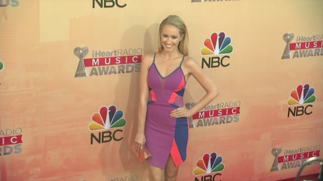 Anna Camp at the 2015 iHeartRadio Music Awards Red Carpet Arrivals at The Shrine Auditorium on March 29 2015 in Los Angeles California