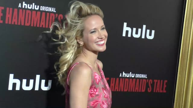 Anna Camp at the Premiere Of Hulu's 'The Handmaid's Tale' on April 25 2017 in Hollywood California