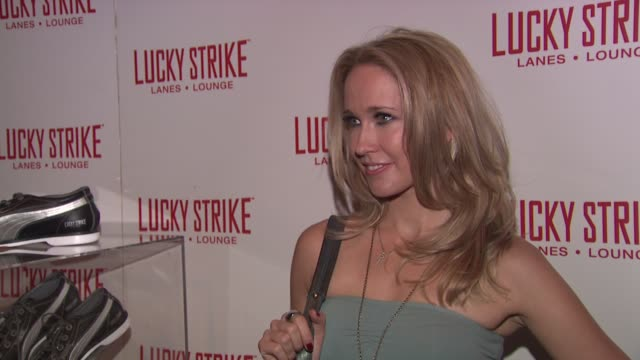 Anna Camp at the Puma x Lucky Strike Bowling Shoe Launch at New York NY