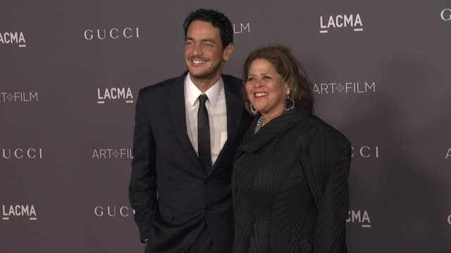 Anna Deavere Smith and Kal Naga at the 2017 LACMA Art Film Gala Honoring Mark Bradford And George Lucas And Presented By Gucci at LACMA on November 4...