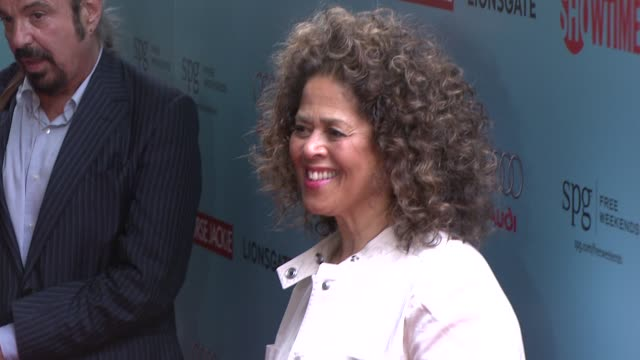 anna deavere smith at the world premiere of showtime's 'nurse jackie' at new york ny - nurse jackie video stock e b–roll