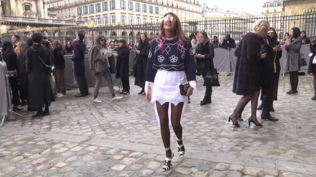 Anna Dello Russo attends the Christian Dior show as part of the Paris Fashion Week Womenswear Fall/Winter 2016/2017 on March 4 2016 in Paris France