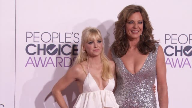 Anna Faris Allison Janney at People's Choice Awards 2015 in Los Angeles CA