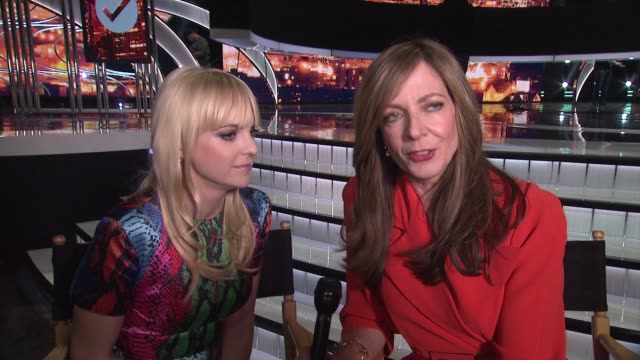 INTERVIEW Anna Faris Allison Janney on what we can expect from the show this season why they work so well together how they've been preparing and if...