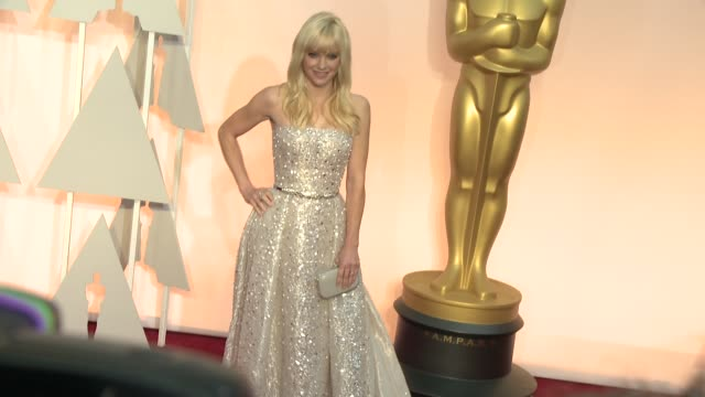 Anna Faris at the 87th Annual Academy Awards Arrivals at Dolby Theatre on February 22 2015 in Hollywood California