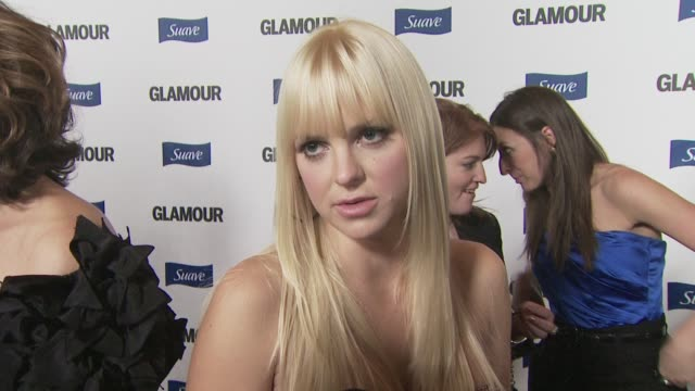 anna faris on how proud she is being involved with glamour reel moments at the glamour reel moments at los angeles ca - anna faris stock videos and b-roll footage
