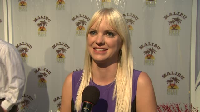 anna faris on tonight's event on why this cause is important to her on being a fan of the beach on if she were stuck on a deserted island what she... - anna faris stock videos and b-roll footage