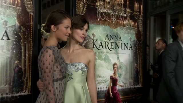Anna Karenina Premiere Presented By Focus Features Los Angeles CA United States 11/14/12