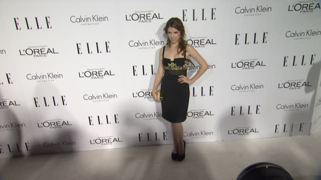 Anna Kendrick at 19th Annual ELLE Women In Hollywood Celebration on in Beverly Hills CA