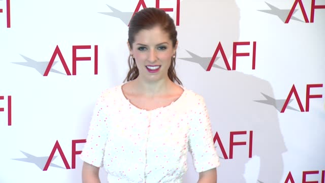 Anna Kendrick at 2015 AFI Awards Luncheon at The Four Seasons Hotel on January 09 2015 in Beverly Hills California