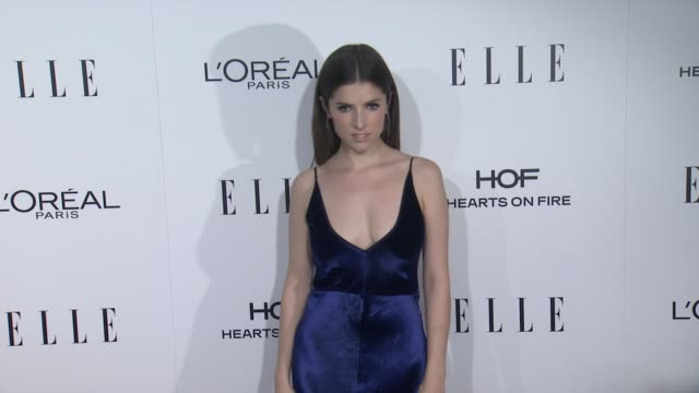 Anna Kendrick at 23rd Annual Elle Women In Hollywood Celebration at Four Seasons Hotel Los Angeles at Beverly Hills on October 24 2016 in Los Angeles...