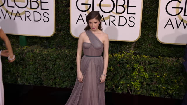 Anna Kendrick at 74th Annual Golden Globe Awards Arrivals at 74th Annual Golden Globe Awards Arrivals at The Beverly Hilton Hotel on January 08 2017...