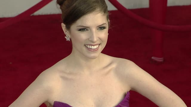Anna Kendrick at the 16th Annual Screen Actors Guild Awards Arrivals at Los Angeles CA