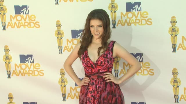 Anna Kendrick at the 2010 MTV Movie Awards at Universal City CA