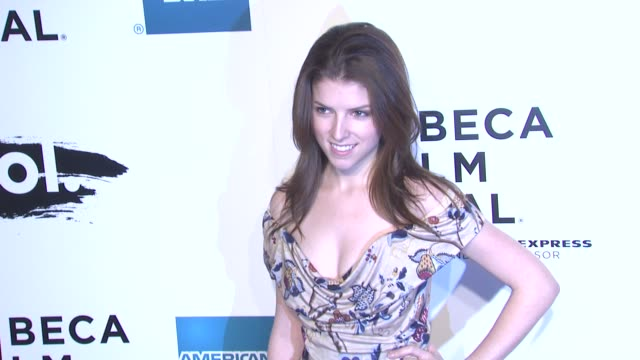 Anna Kendrick at the 2011 Tribeca Film Festival Opening Night World Premiere of 'The Union' at New York NY