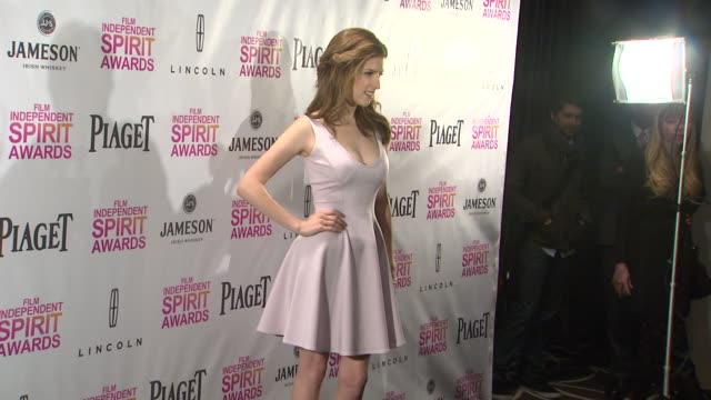 Anna Kendrick at the 2013 Film Independent Spirit Awards Nominations Press Conference Anna Kendrick at the 2013 Film Independent Spirit at W...