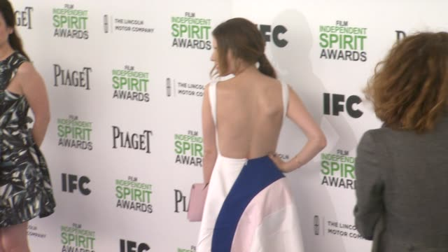 Anna Kendrick at the 2014 Film Independent Spirit Awards Arrivals on March 01 2014 in Santa Monica California