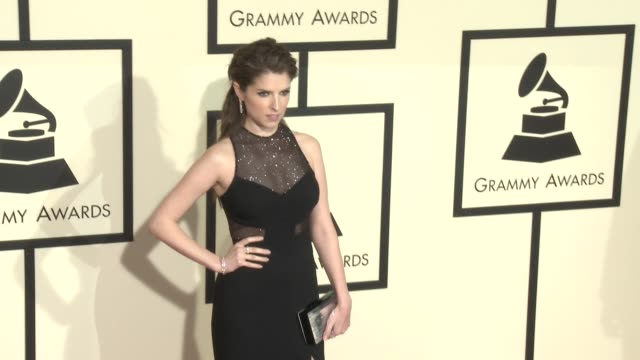 Anna Kendrick at the 58th Annual GRAMMY Awards® Arrivals at Staples Center on February 15 2016 in Los Angeles California