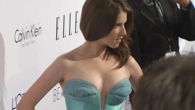 Anna Kendrick at the ELLE Magazine's 17th Annual Women in Hollywood Celebration at Beverly Hills CA
