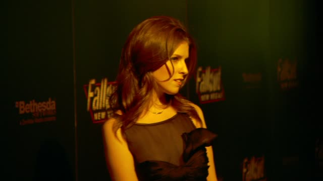 Anna Kendrick at the 'Fallout New Vegas' Launch Party at Las Vegas NV