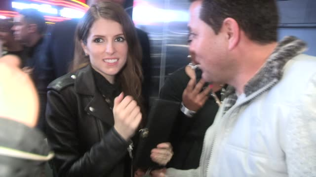 Anna Kendrick at the Pitch Perfect 2 Premiere After Party in Los Angeles in Celebrity Sightings in Los Angeles