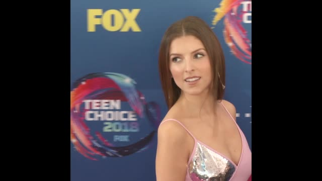 Anna Kendrick at the Teen Choice Awards 2018