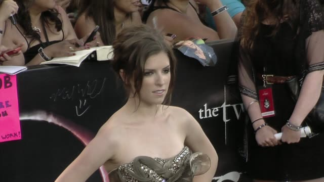 Anna Kendrick at the 'The Twilight Saga Eclipse' Premiere at Los Angeles CA