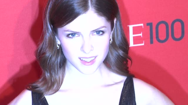Anna Kendrick at the TIME 100 Gala TIME'S 100 Most Influential People In The World at New York NY