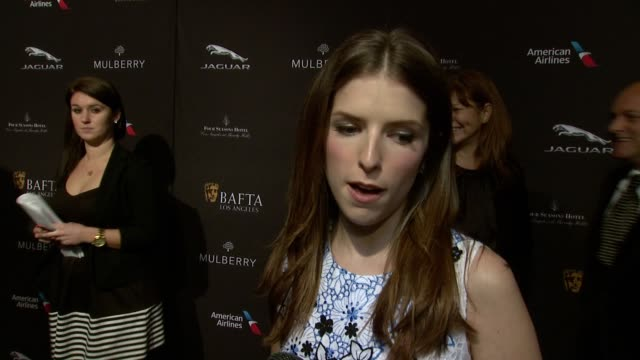 INTERVIEW Anna Kendrick on being at the event on what makes the BAFTA Tea Party one of the most prestigious events of the weekend and on getting...