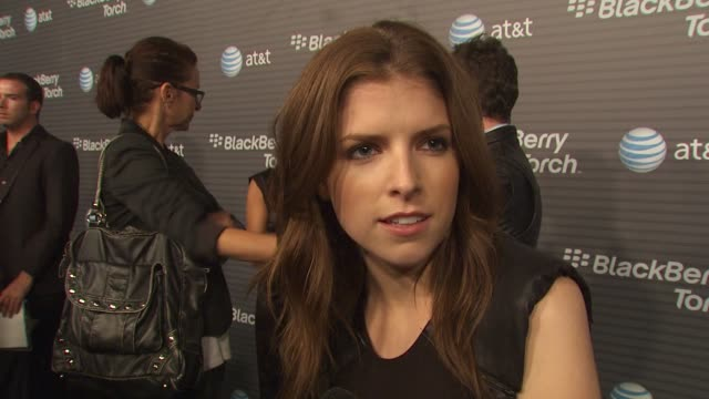 Anna Kendrick on how long she's been a Blackberry fan her favorite thing about the new Blackberry Torch why she wanted to come out and be a part of...