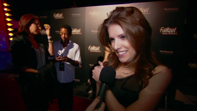 Anna Kendrick on the event at the 'Fallout New Vegas' Launch Party at Las Vegas NV