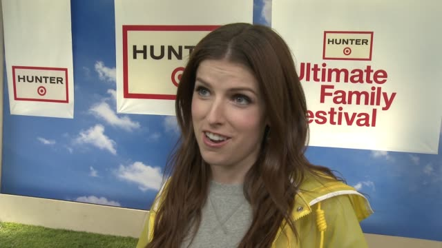 INTERVIEW Anna Kendrick on what we're celebrating at the Hunter for Target Ultimate Family Festival on March 25 2018 in Pasadena California