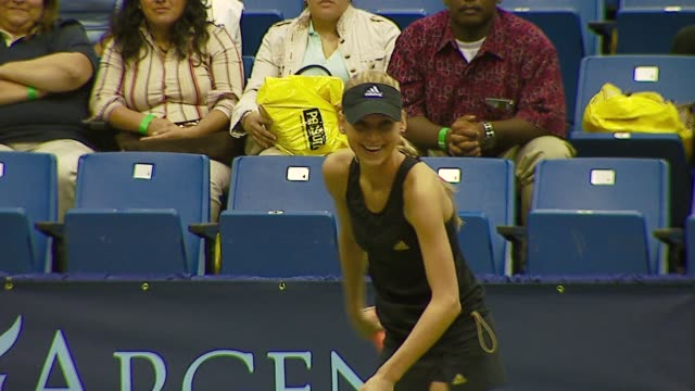 Anna Kournikova at the Advanta Presents WTT Smash Hits Celebrity Tennis Tournament at Bren Center University of Irvine in Irvine California on...