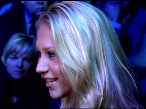 Anna Kournikova at the Olympus Fashion Week Fall 2006 Y3 Backstage and Runway at Roseland Ballroom in New York New York on February 8 2006