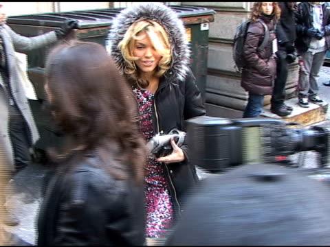 Anna Lynn McCord at Jill Stuart Show Fall 2010 MBFW at the Celebrity Sightings in New York at New York NY