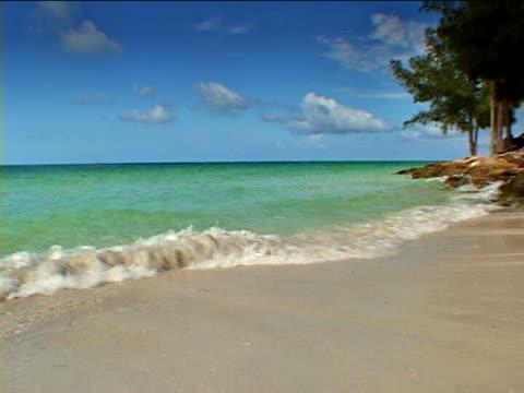 anna maria island: sand key county park beach - anna maria island stock videos and b-roll footage