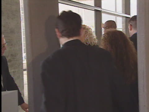 anna nicole smith arrives at court with her lawyer howard k. stern. - anna nicole smith stock videos & royalty-free footage