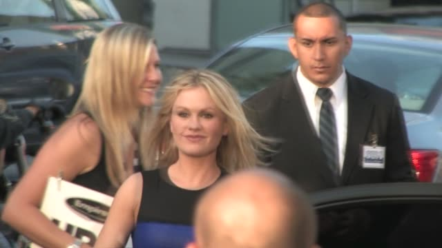 Anna Paquin and Stephen Moyer arrive at HBO's True Blood Season 3 Premiere at the Celebrity Sightings in Los Angeles at Los Angeles CA
