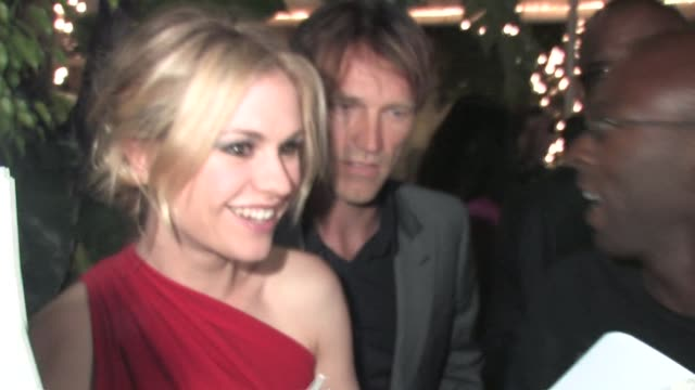 Anna Paquin and Stephen Moyer at The 2010 Entertainment Weekly and Women In Film Pre Emmy Party at the Celebrity Sightings in Los Angeles at Los...