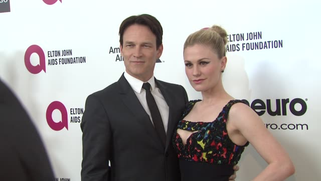 Anna Paquin And Stephen Moyer at the Elton John AIDS Foundation Presents 22nd Annual Academy Awards Viewing Party Sponsored By Chopard Neuro Drinks...