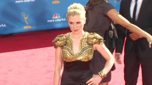 Anna Paquin at the 62nd Primetime Emmy Awards Arrivals Part 2 at Los Angeles CA