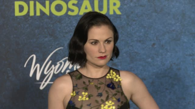 Anna Paquin at The Good Dinosaur World Premiere at the El Capitan Theatre on November 17 2015 in Hollywood California