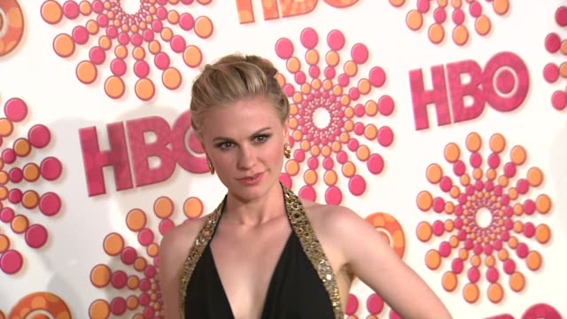 Anna Paquin at the HBO's Annual Emmy Awards Post Award Reception at Los Angeles CA