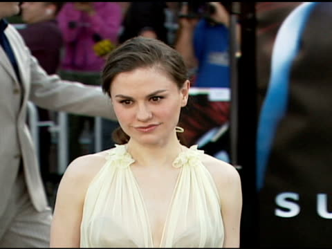 Anna Paquin at the 'Superman Returns' Premiere at the Mann Village Theatre in Westwood California on June 21 2006