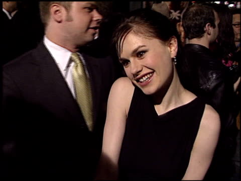 Anna Paquin at the 'X2 XMen United' Premiere at Grauman's Chinese Theatre in Hollywood California on April 28 2003