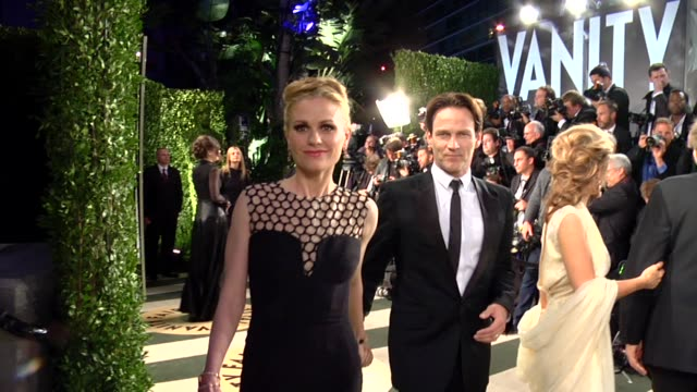 Anna Paquin Stephen Moyer at The 2013 Vanity Fair Oscar Party Hosted By Graydon Carter The 2013 Vanity Fair Oscar Party Hosted By Graydon Carter at...