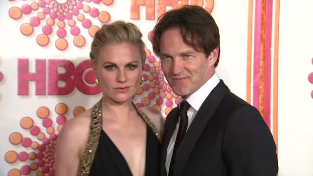 Anna Paquin Stephen Moyer at the HBO's Annual Emmy Awards Post Award Reception at Los Angeles CA