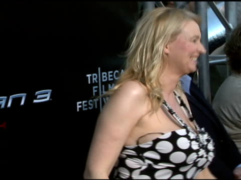 anna wilding at the 'spiderman 3' premiere at 2007 tribeca film festival at the astoria kaufman theater in new york, new york on april 30, 2007. - film festival stock videos & royalty-free footage